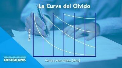 la curva del olvido y las oposciones