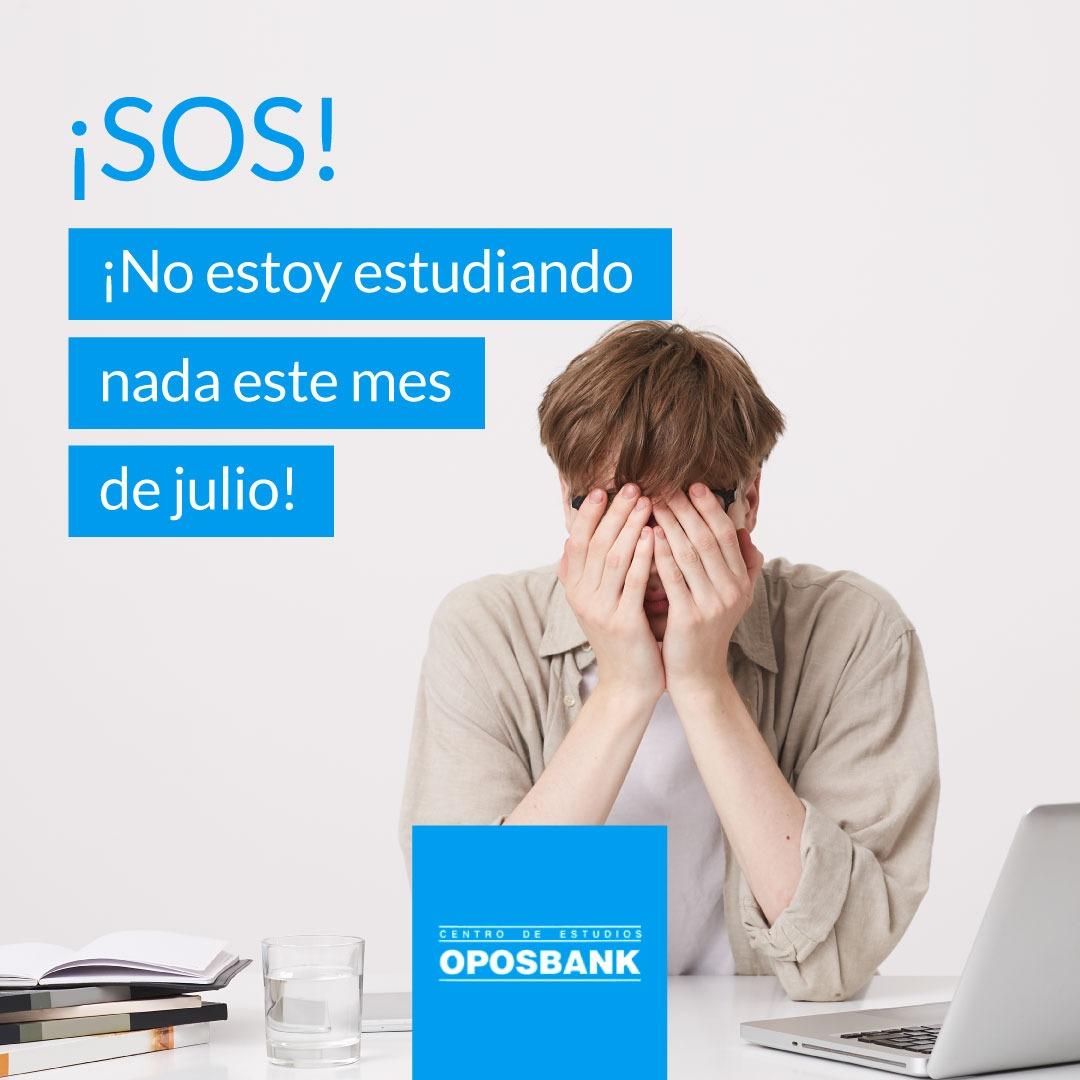 ¡SOS! No estoy estudiando nada este mes de julio 1
