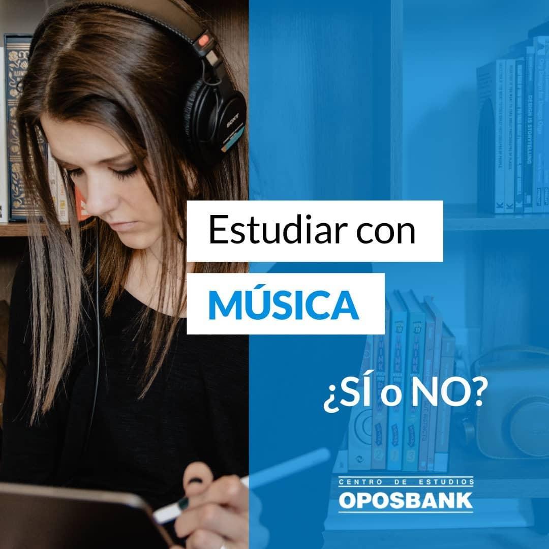 ¿Se puede estudiar con música? 2